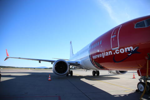 ​Norwegian reports a pre-tax result of 861 million NOK (£80.5m) and a high load factor