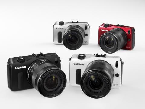 Bilder i speilreflekskvalitet like for hånden – Canon lanserer kompakte og enkle EOS M