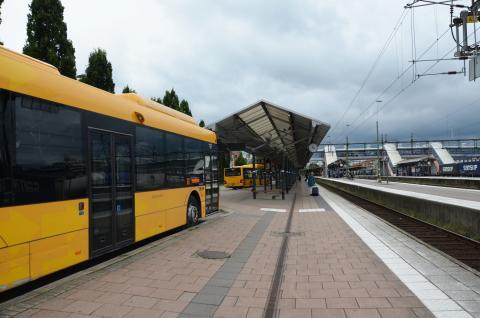 Nya busshållplatser när Järnvägsgatan öppnas den 10 december