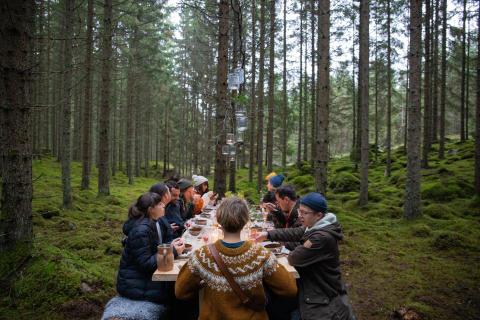 Visit Sweden bjuder in utländska turister till gör-det-själv-måltid i naturen