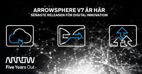 Arrow Electronics lanserar ny version av molnplattformen ArrowSphere
