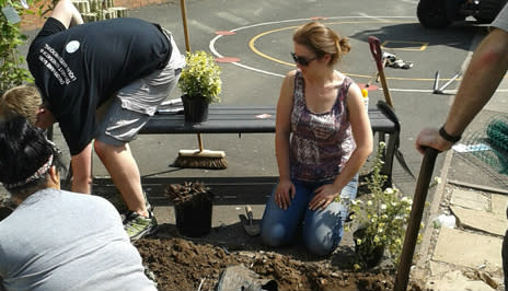 Mitie and JLL reinvigorate local school grounds