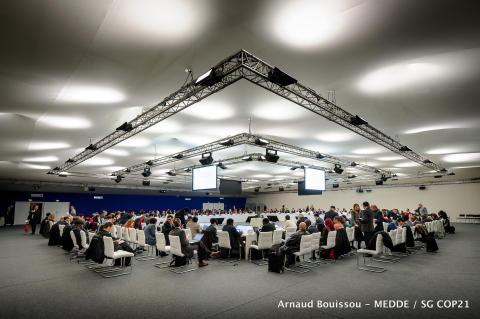 COP21: Nu slutförhandlas det in i kaklet