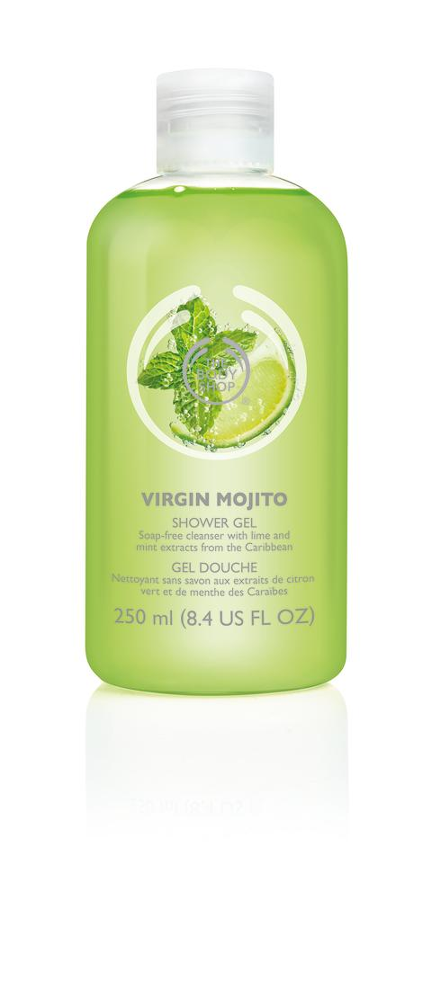 body shop shower gel how to use