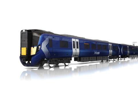 Hitachi Rail Europe AT200 train for Abellio's ScotRail franchise