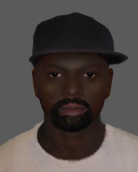 Efit of the man police seek to identify