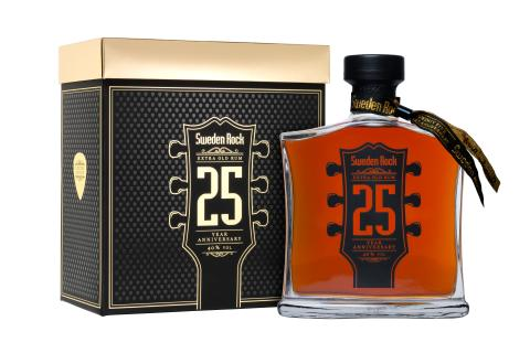 Sweden Rock 25-year anniversary extra old rum