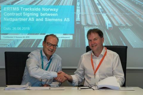 Siemens Mobility tildeler stor installasjonskontrakt til Nettpartner