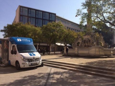 Beratungsmobil der Unabhängigen Patientenberatung kommt am 8. April nach Trier.