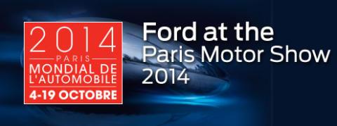 Ford nyheder på Paris Motor Show 2014: Ny S-MAX, ny C-MAX, og europæisk Mustang