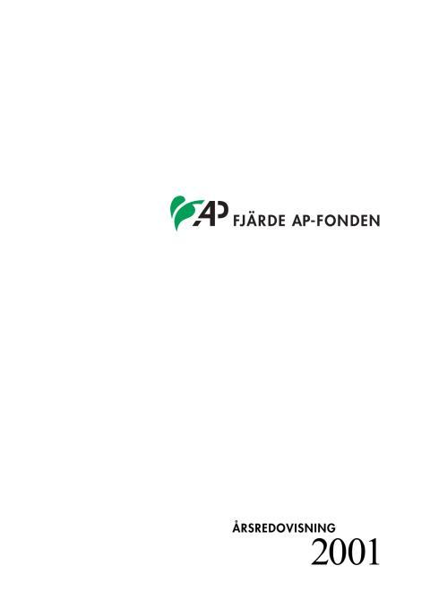 AP4 Årsredovisnin 2001