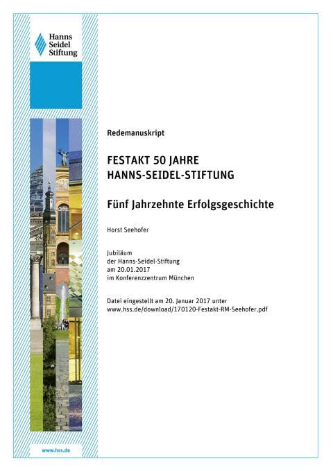 Redemanuskript Seehofer