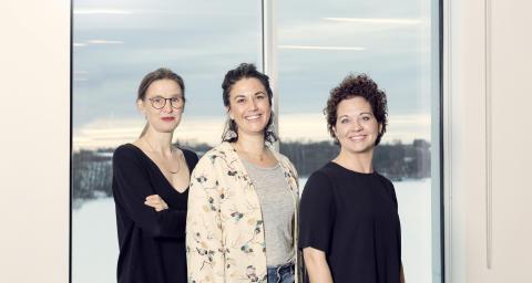 Johanna Hallin, Sarita Nath, Malin Johansson