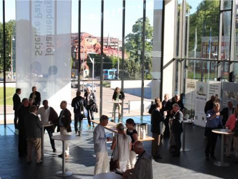 Lyckad premiär för nytt Johanneberg Science Park event