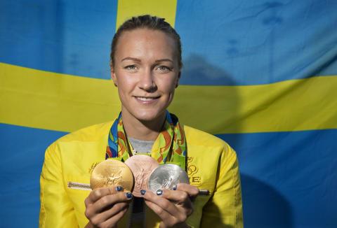Sarah Sjöström Jerringnominerad Idrottsgalan 2017