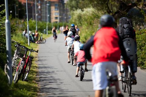 Cyklingen i Jönköping har ökat med 20 procent