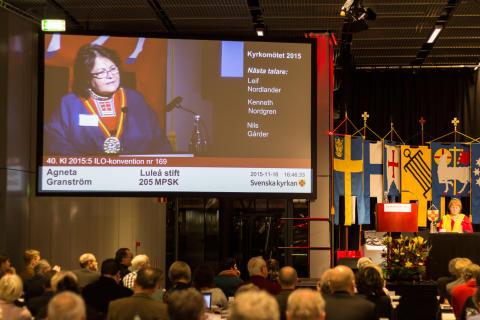 Svenska kyrkan driver på om urfolks rättigheter
