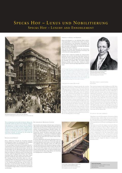 """""""Specks Hof - Luxus und Nobilitierung"""" - Specks Hof"""
