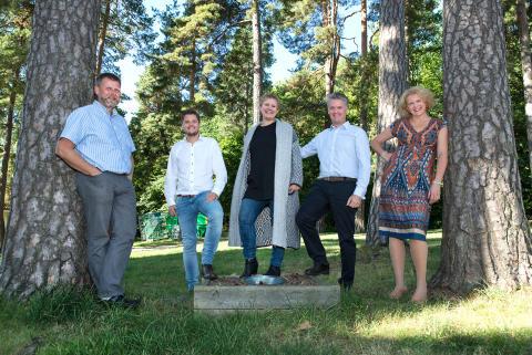 Teamet i Ferd Sosiale Entreprenører