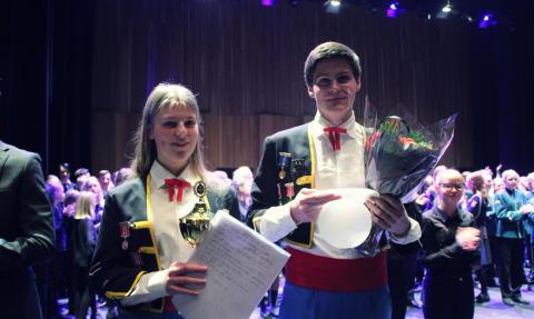Voksen Skoles Musikkorps og Hasle Skoles Musikkorps regionmestre!