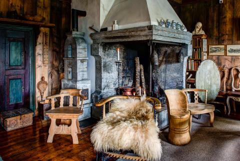 Kåseri på Sigrid Undsets hjem Bjerkebæk