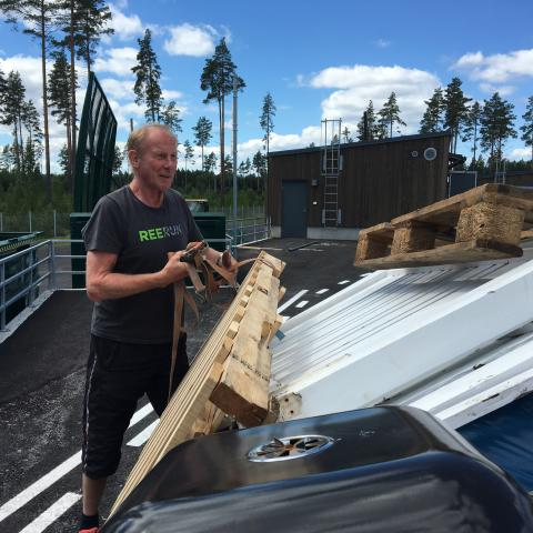 Äntligen! En helt ny återvinningscentral i Skutskär