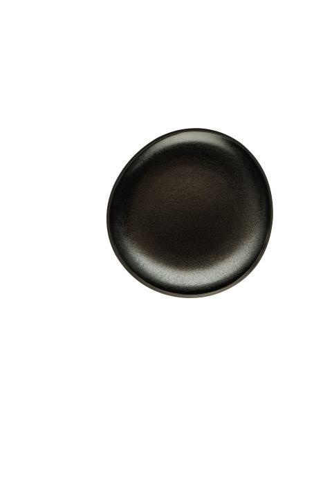 R_Junto_Dark_slategrey_Plate_flat_16_cm