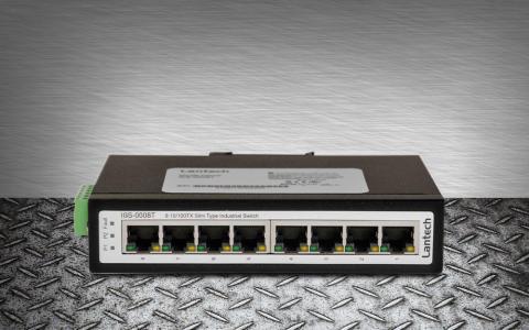 Kompakt gigabitswitch för industrin
