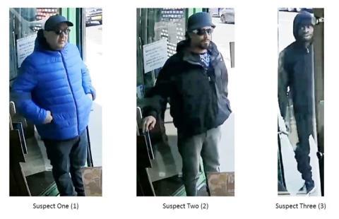 Haringey jewellery store robbery suspects