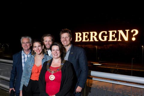 Ordføreren lyste opp Bergen?