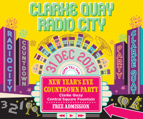 CLARKE QUAY RADIO CITY NEW YEAR'S EVE COUNTDOWN