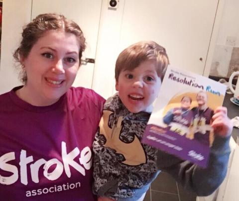 Wilmslow mother takes on Resolution Run