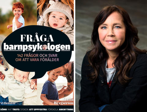 Ny bok från Vi Föräldrar: Fråga barnpsykologen – 142 frågor och svar om att vara förälder