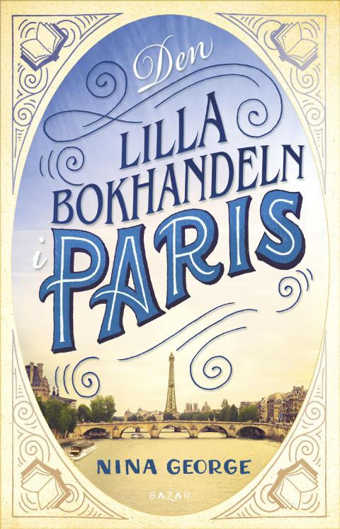 Omslagsbild Den lilla bokhandeln i Paris