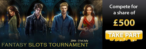 Fantasy Slots Tournament - Win a share of £1000