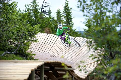 SkiStar Sälen: Midnattscykling i Sälen Bike Park