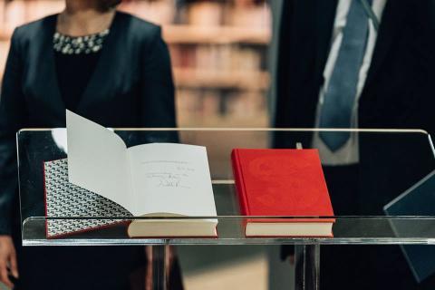 Boggaven fra Danmark til Letlands Nationalbibliotek: Gesta Danorum af Saxo Grammaticus