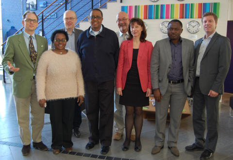 Delegation från Rwanda besökte JIBS