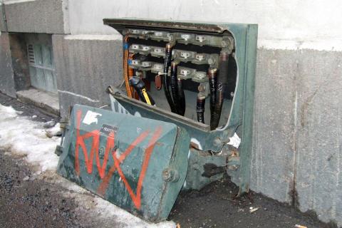 Snøsmeltingen avdekker skader på strømanlegg