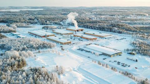 Nye testanlæg på Strömsund-fabrikken