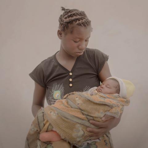 Plan International och UNFPA lanserar #childmothers - ett nytt initiativ för att synliggöra världens barnmammor
