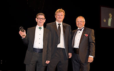 Virgin Trains' Paddy Fitzsimons wins National RailStaff Award for Outstanding Customer Service
