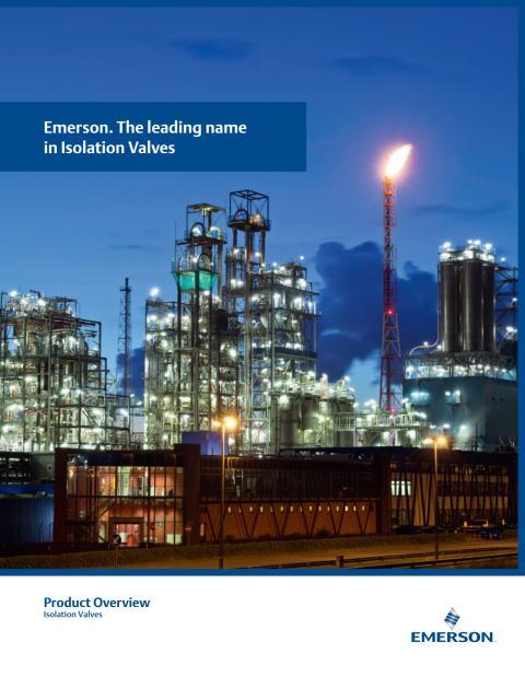 Emerson Avstängningsventiler broschyr - ASKALON AB