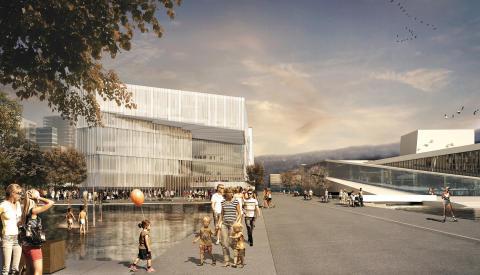 Die neue Stadtbibliothek von Oslo