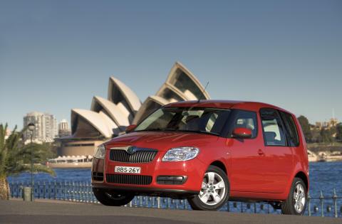Australien nästa för Skoda Auto