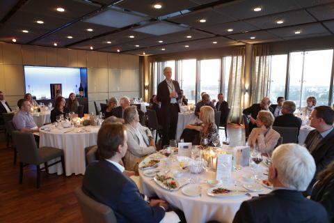 Christof v. Kalle. Speakers Dinner. Innovationsworkshop 5.Juni 2014