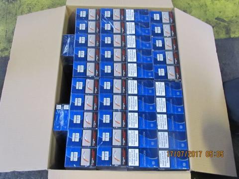SE 10.17 - Box of Richmond cigarettes