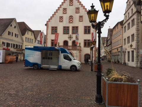 Beratungsmobil der Unabhängigen Patientenberatung kommt am 20. Mai nach Bad Mergentheim.