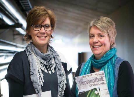 Lena och Kiki - psykiatriska kliniken i Skellefteå