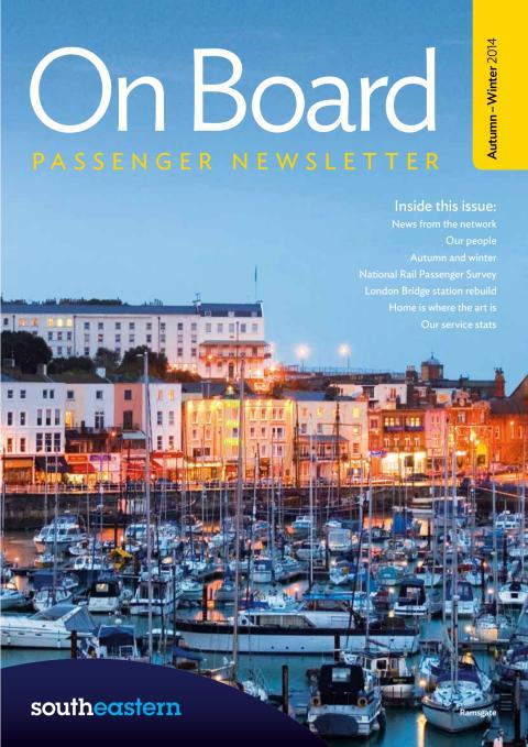 On Board magazine - Autumn / Winter 2014